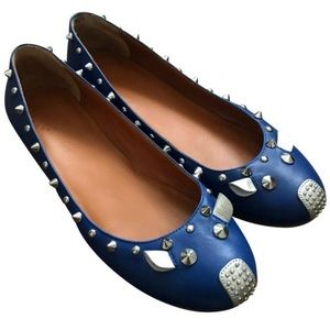 Marc by Marc Jacobs studded mouse flat